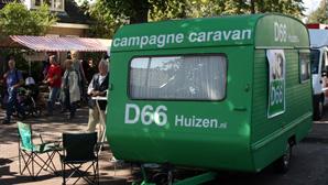D66 Carvan in Oude Dorp